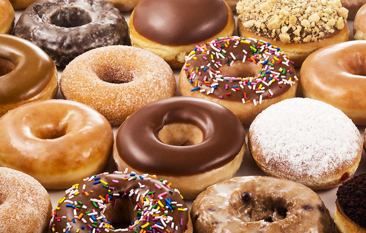 6 worst foods building muscle doughnuts