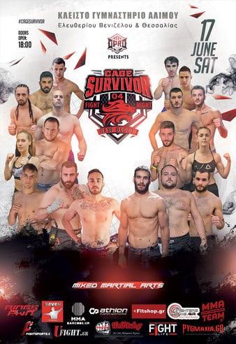 Το Cage Survivor New Blood 4 έρχεται 17 Ιουνίου στην Αθήνα! 1