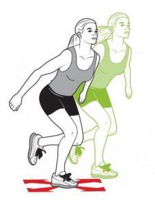 Single-leg-hops