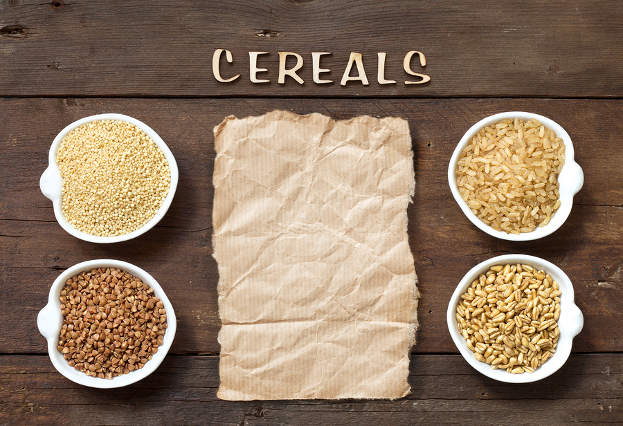 bigstock Cereals In Bowls With Word Cer 79714933