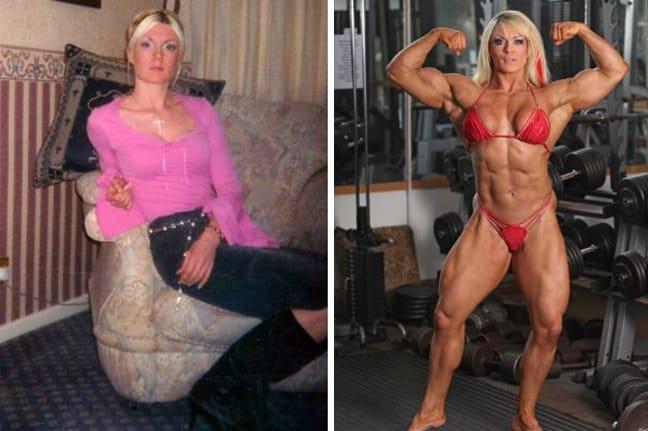 Το έριξε στο  bodybuilding και σώθηκε από την ανορεξία 1