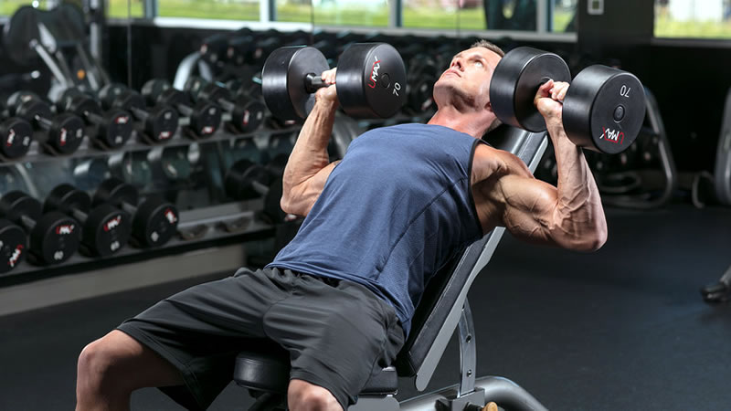 chest workout dumbbell