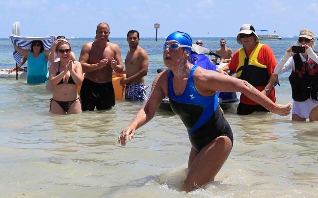 Κολύμπησε απο τη Florida στην Κούβα η 64χρονη Diana Nyad 3