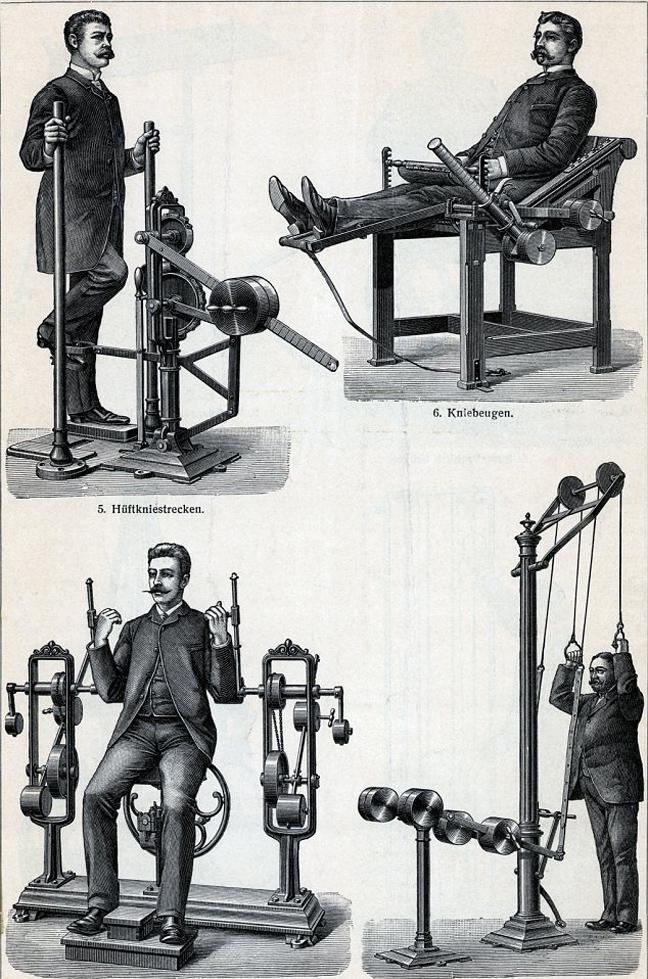 Τα όργανα γυμναστικής του παρελθόντος 10