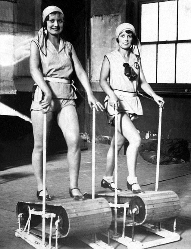 Τα όργανα γυμναστικής του παρελθόντος 2