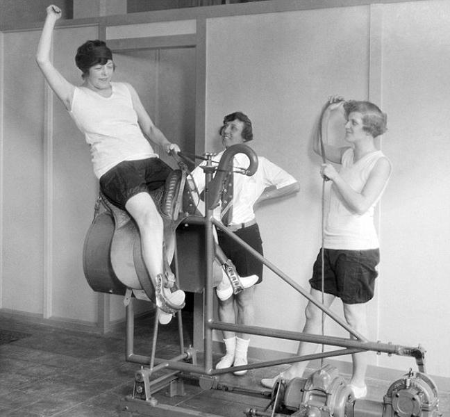 Τα όργανα γυμναστικής του παρελθόντος 8