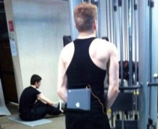 Όσα συναντάς σε ένα γυμναστήριο 2