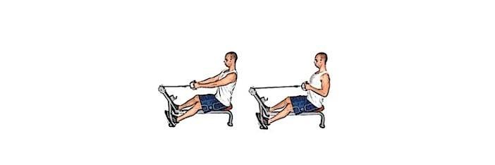 3 ασκήσεις πλάτης στο γυμναστήριο 2