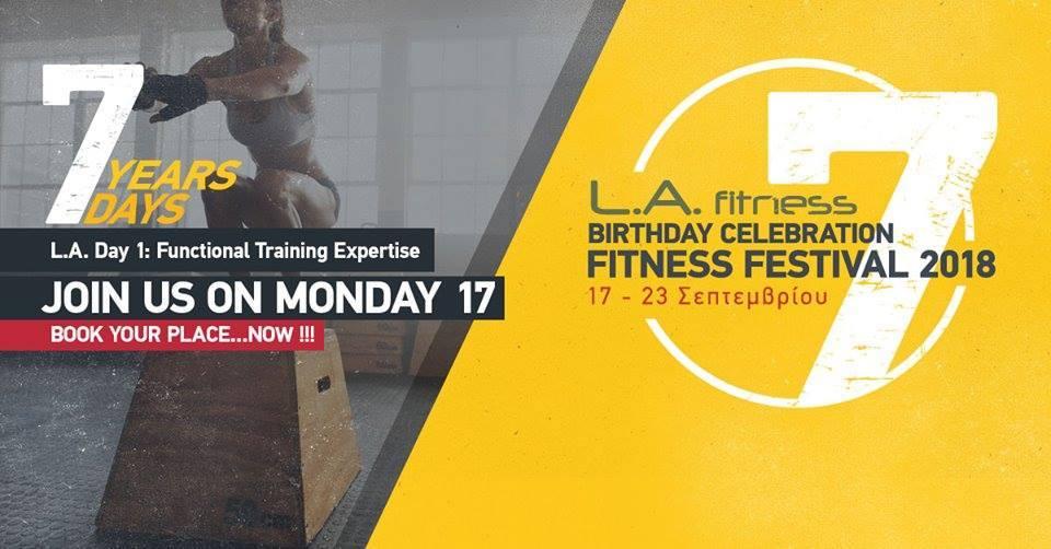Το μεγαλύτερο Fitness Event της χρονιάς έρχεται από τις 17 έως τις 23 Σεπτεμβρίου! 1