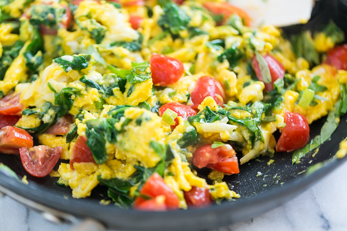 omeleta me laxanika