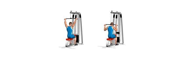 3 ασκήσεις πλάτης στο γυμναστήριο 1