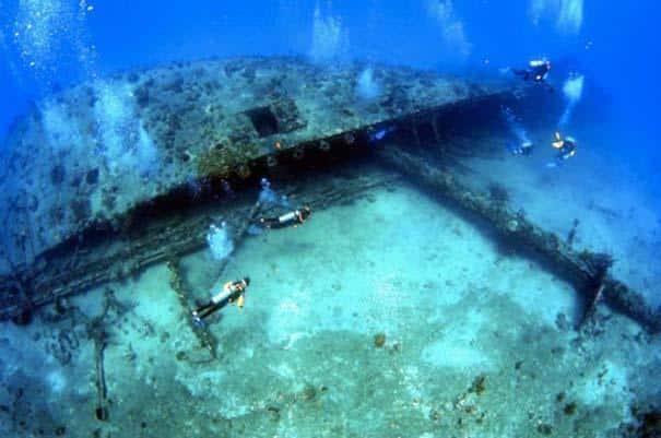 Ανακαλύψαμε τα 11 ναυάγια που έχουν παγώσει στο χρόνο με το Scuba Diving 7