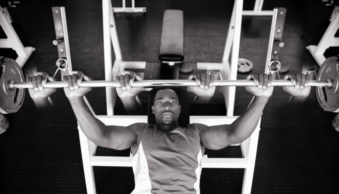 wide close grip bench press